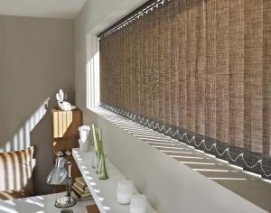 Persianas verticales tela